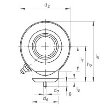 FAG Hydraulic rod ends - GK25-DO