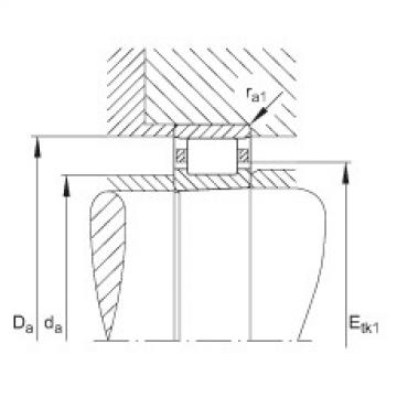 FAG محامل أسطوانية - N1014-K-M1-SP