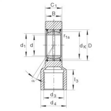 FAG Hydraulic rod ends - GIHRK70-DO