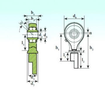 TSM 17-00 BB-E ISB تحمل