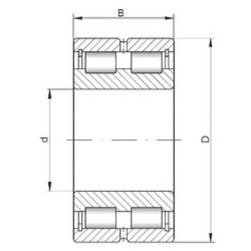 المحامل NNCL4852 V ISO