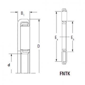 المحامل FNTK-1732 Timken