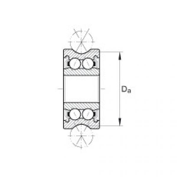 FAG بكرات الجنزير with profiled outer ring - LFR5302-10-2Z #2 image