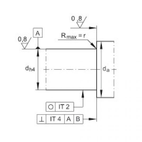 FAG Angular contact ball bearing units - ZKLFA1563-2RS #3 image