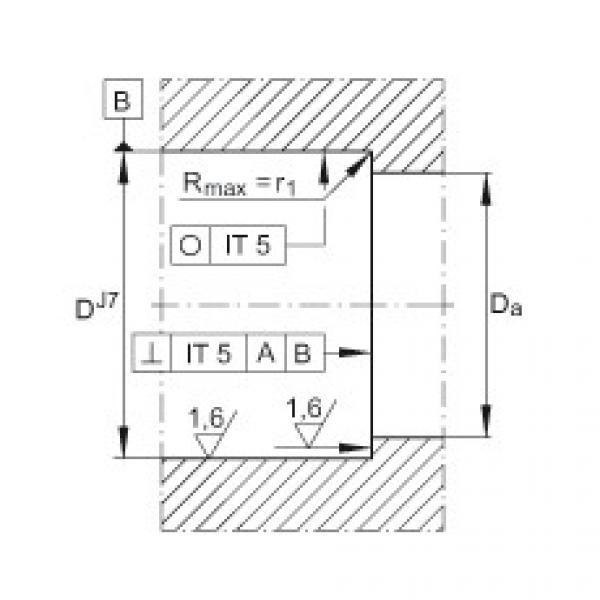 FAG محوري الزاوي الاتصال الكرات - ZKLF2068-2RS-PE #3 image