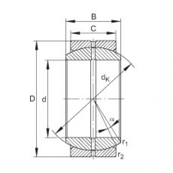 FAG Radial spherical plain bearings - GE70-DO #1 image