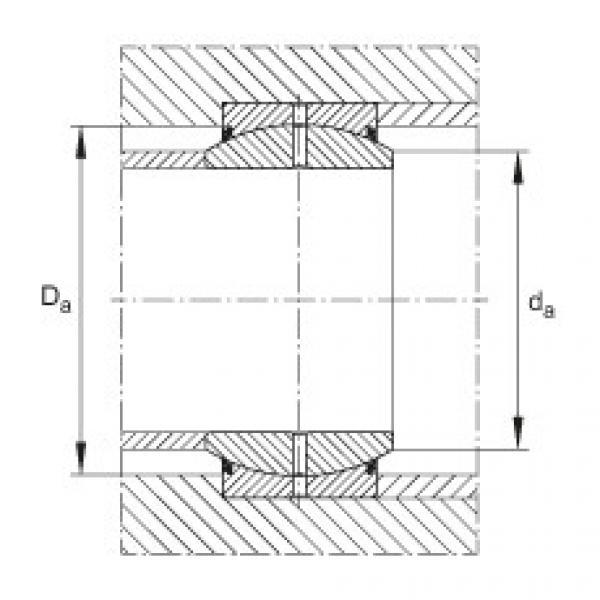 FAG Radial spherical plain bearings - GE70-DO #2 image