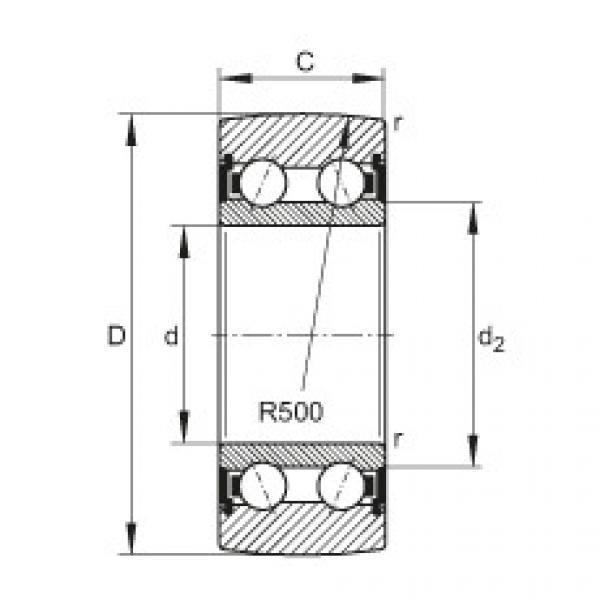 FAG بكرات الجنزير - LR5304-2HRS-TVH-XL #1 image