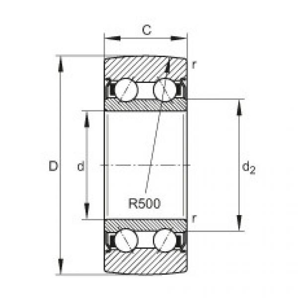 FAG بكرات الجنزير - LR5202-2Z-TVH-XL #1 image