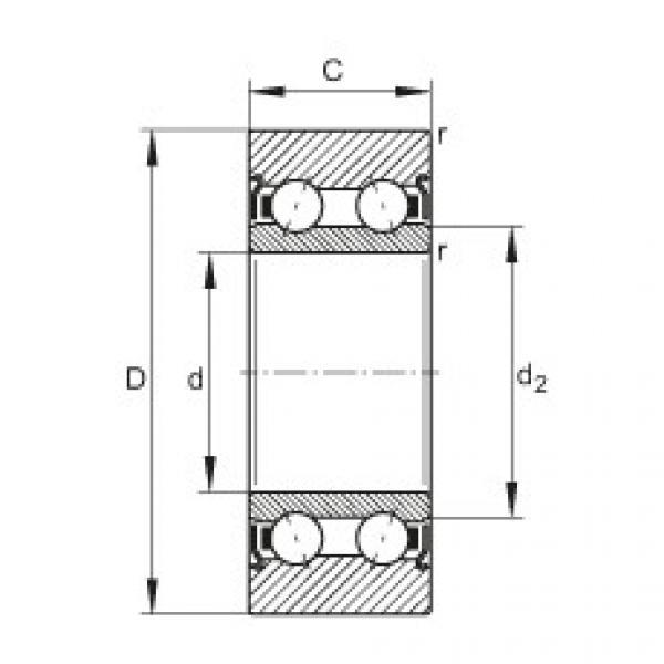FAG بكرات الجنزير - LR5202-X-2Z-TVH-XL #1 image