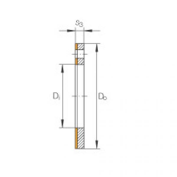 FAG Thrust washers - EGW16-E40-B #1 image