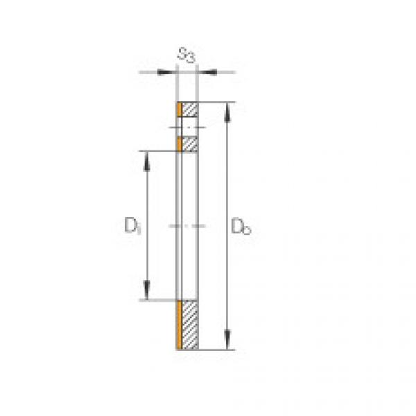 FAG Thrust washers - EGW18-E40-B #1 image