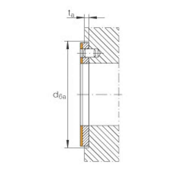 FAG Thrust washers - EGW22-E40-B #3 image