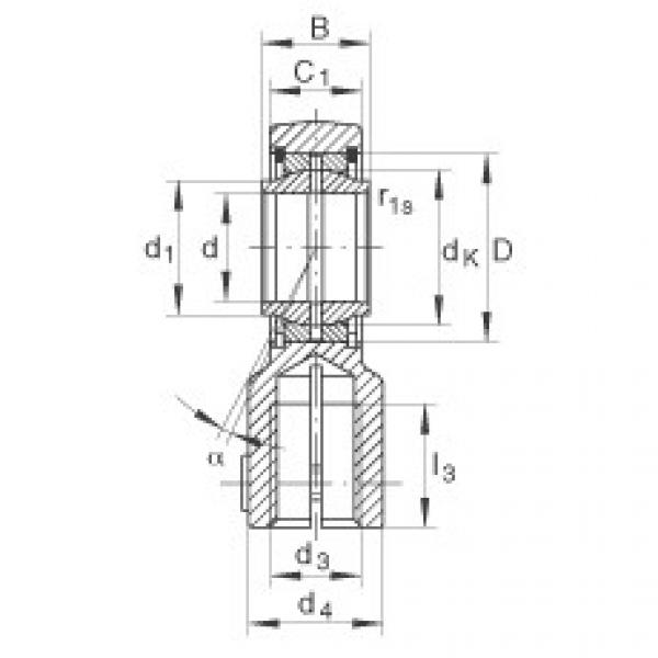 FAG Hydraulic rod ends - GIHNRK16-LO #1 image