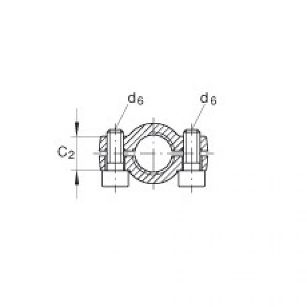 FAG Hydraulic rod ends - GIHNRK16-LO #3 image