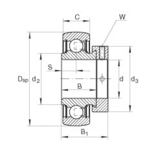 FAG شعاعي إدراج الكرات - RALE20-XL-NPP-B #1 image