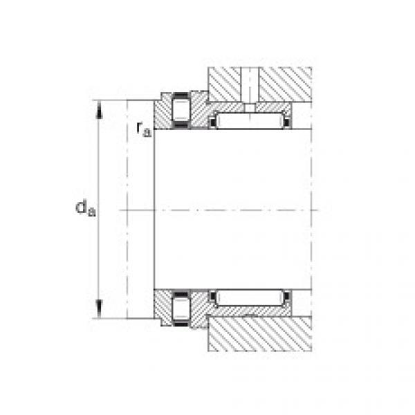 FAG إبرة بكرة / محوري أسطواني محامل - NKXR15-XL #2 image