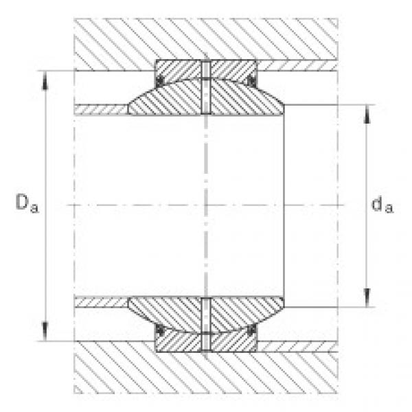 FAG Radial spherical plain bearings - GE17-FO-2RS #2 image