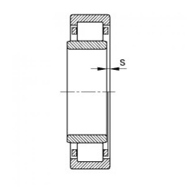 FAG محامل أسطوانية - NU1005-XL-M1 #2 image