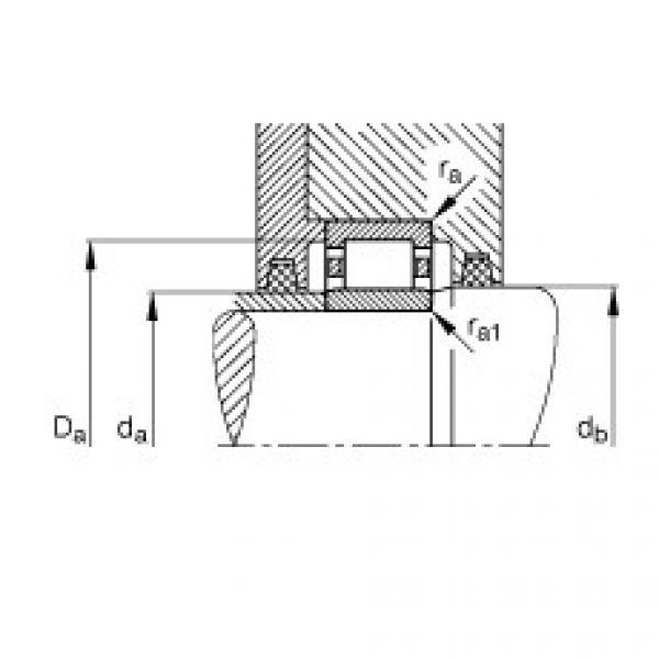 FAG محامل أسطوانية - NU1005-XL-M1 #3 image