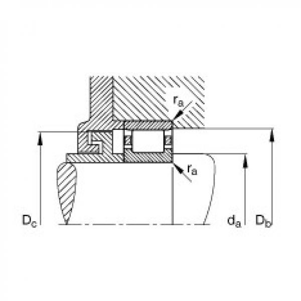 FAG محامل أسطوانية - N204-E-XL-TVP2 #3 image