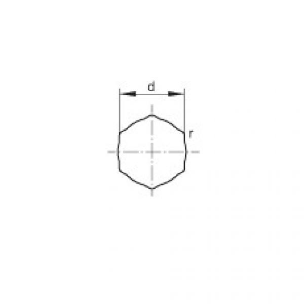 FAG Self-aligning deep groove ball bearings - SK100-206-KRR-B-AH11 #2 image