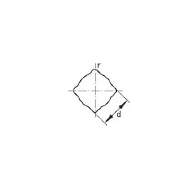 FAG Self-aligning deep groove ball bearings - GVKE16-205-KRR-B-2C-AS2/V-AH01 #2 image