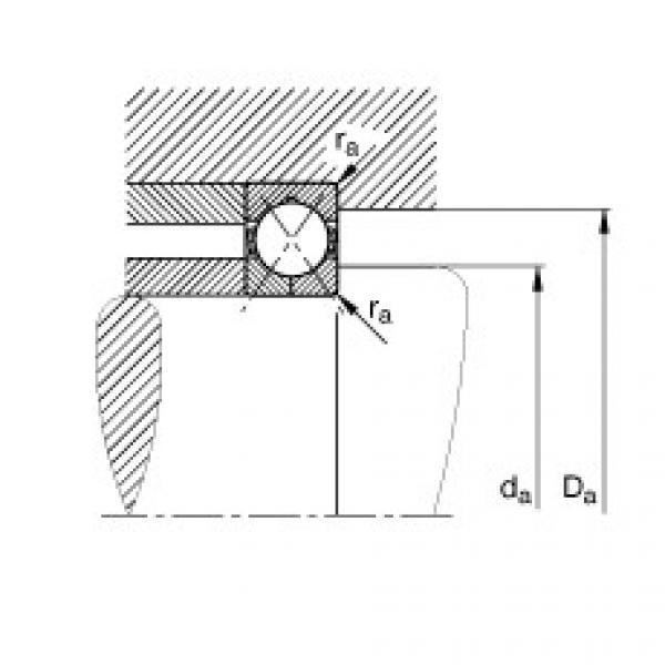 FAG أربعة محامل الاتصال نقطة - QJ205-XL-MPA #2 image