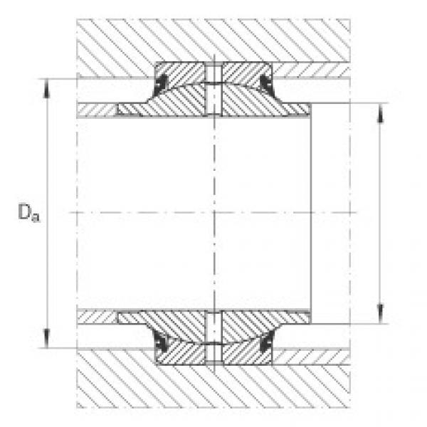 FAG Radial spherical plain bearings - GE20-HO-2RS #2 image