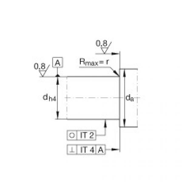FAG محوري الزاوي الاتصال الكرات - BSB2047-SU-L055 #4 image