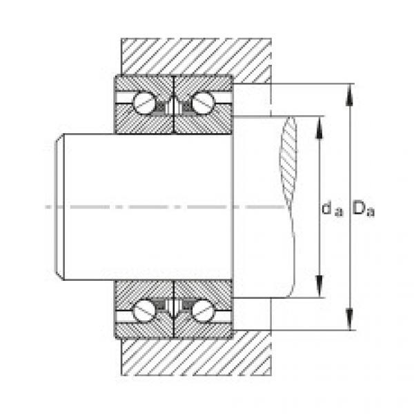 FAG محوري الزاوي الاتصال الكرات - BSB2047-SU-L055 #2 image