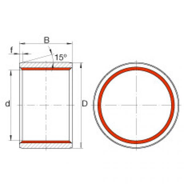 FAG Cylindrical plain bushes - ZGB70X80X70 #1 image