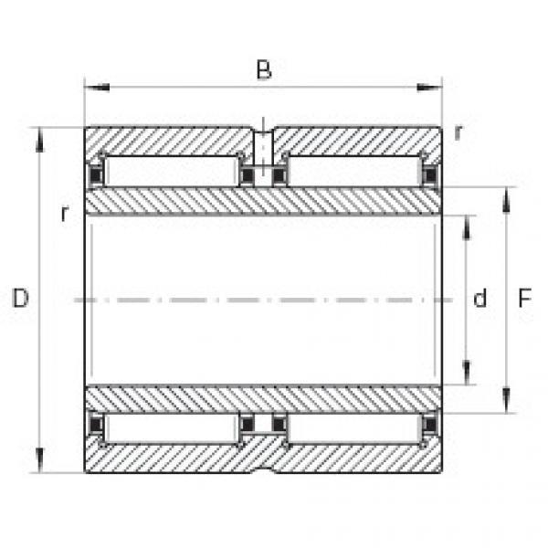 FAG محامل إبرة - NA69/32-ZW-XL #1 image