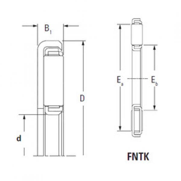 المحامل FNTK-3554 KOYO #1 image